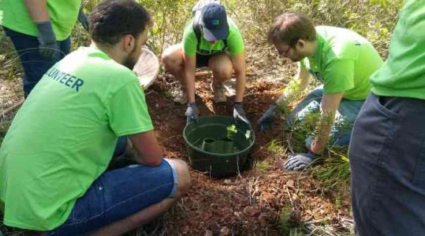 Treballant per la biodiversitat del Parc del Garraf amb CA Tecnologies