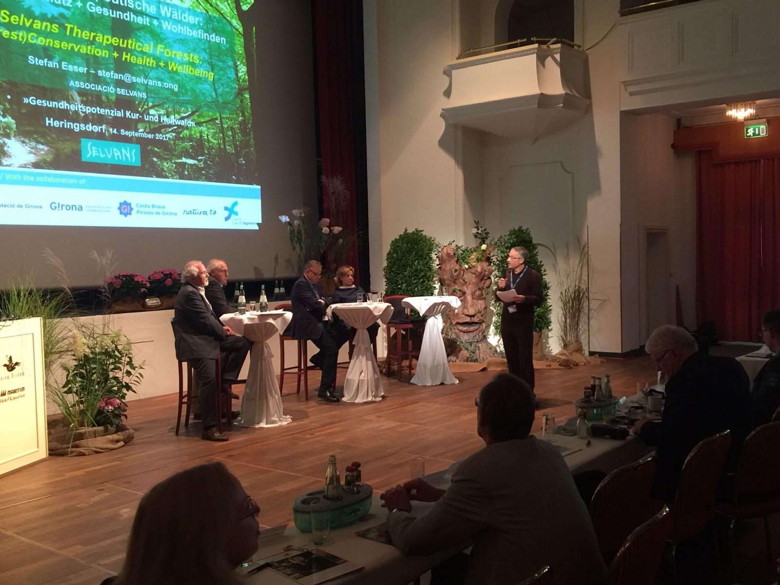 Resum participació #Sèlvans al 1er Congrés sobre Boscos Terapèutics.