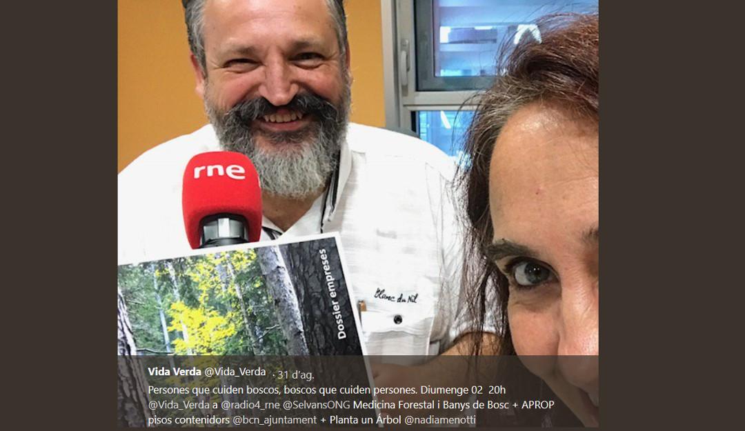 """Els Boscos Terapèutics al """"Vida verda"""""""