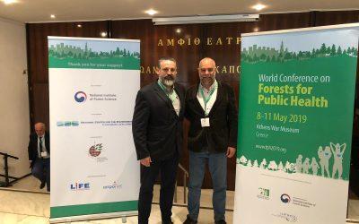 Participem a la Conferència Mundial sobre Boscos per a la Salut Pública a Grècia