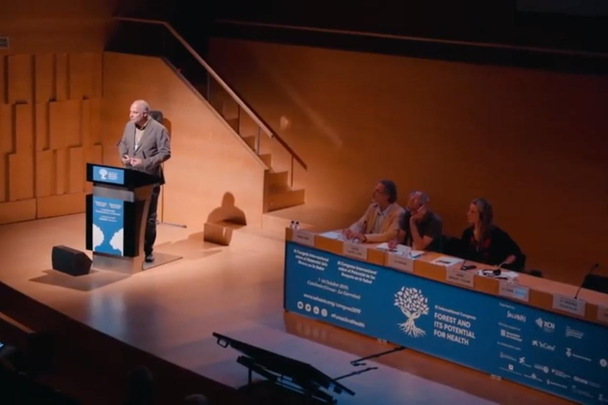 Ja disponible el vídeo resum del III Congrés Internacional sobre el Potencial dels Boscos en la Salut.